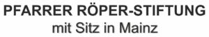 Pfarrer-Röper Stiftung